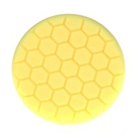 Wholesale 10Pc Yellow Inch mm Hex Logic Buffing Polishing Pad kit For Car Polisher