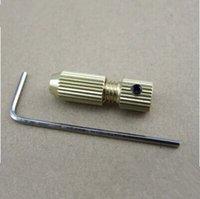 Wholesale Multi model small drill chuck drill twist drill chuck copper clip miniature self tightening chuck hand drill accessories
