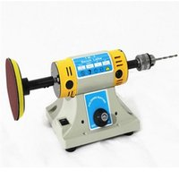 Wholesale DIY jade cutting machine engraving machine versatile bench grinders miniature table saw mini mill electric grinder station