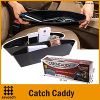 Wholesale Catch Caddy Car Seat Catcher Car Organizer Accessory Holder Storage Seats Pocket catcher Color