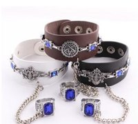 Wholesale Black Butler Oddo Eye Cosplay Bracelet Anime Punk Style B4