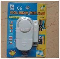 Wholesale 600pcs CCA3213 High Quality Wireless Magnetic Sensor Door Window Entry Safety Security Burglar Alarm Bell Security Device Lock Burglar