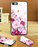 Cheap cute girl beautiful flowers Leopard Style Print On Pu Cross Pattern Leather Hard Black Cover Case for iphone 4 4s 4g 4th 1PC