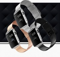 stainless steel buckle - For Apple Watch Stainless Steel Watch Band Strap Adapter bracelet Watchband Strap Classic Buckle mm mm Colors