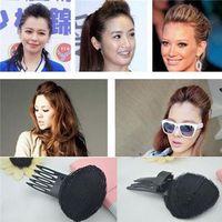 Wholesale New Womens Hair Styling Clip Stick Bun Maker Braid Tool Hair Accessories Hair Barrettes Hairpins Small Comb for Losing Hair Bang