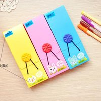 Wholesale Stationery box brief fashion multicolour dressing button elastic strap pencil case pencil case