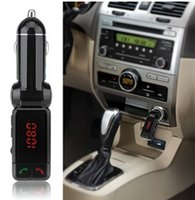 best music car - Best Sale Cheaper BC06 Wireless Bluetooth Music Hands free Calling FM Transmitter USB SD Car Charger DHL