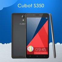 <b>Cubot</b> originale S350 5.5 '' 1280 * 720 Schermo IPS MTK6582 Quad Core Android 4.4 del telefono cellulare 2 GB di RAM 16 GB ROM 13.0MP Camera IN Archivio