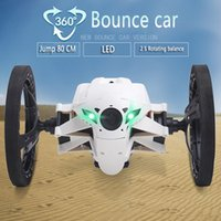 Wholesale Mini Bounce Car SJ80 RC Cars CH GHz Jumping Sumo RC Car with Flexible Wheels Remote Control Robot Car