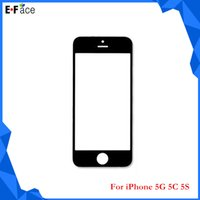 Cheap Q0757 Wholesale - iPhone 5 5C 5S Front Outer Screen Lens Glass Replacement- Free DHL Shipping
