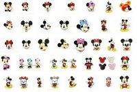 Cheap Free shipping lot 100 pcs multicolor mixed my little pony Charms Earrings Pendants DIY Jewelry Making 30mm
