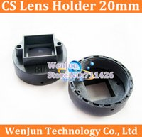 Wholesale CS mm interface lens holder Large lens mounting base CCD plate for cctv camera order lt no track