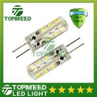 Dimmable de Puissance Élevée de Lampe de LED SMD3014 3W 12V G4 Remplacer 30W halogène 360 Angle de Faisceau de LED lustre en Cristal Ampoule garantie 2 ans