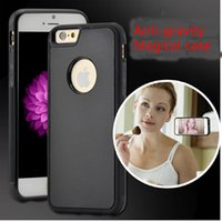 Wholesale 2016 Newest Antigravity anti gravity Design Case Anti Gravity Selfie Magical Case Without Being Sticky For Apple iphone s Plus s Plus