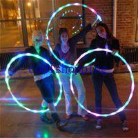 led hula hoop - DHL Freeshipping LED HULA HOOP diameter cm