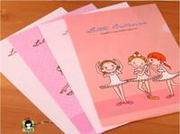 ballet dance supplies - Kawaii PP Filing Holder Lovely Ballet Girl Dancing Kids Archivador Korean Stationary School Office Supplies