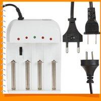 Wholesale 4 Port Gradually Adjustable Universal Battery Charger for AA AAA etc Battery US UK EU AC Plug