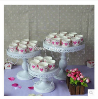 cake plates - LARGE SIZE CM DIAMETER IRON METAL HAPPY BIRTHDAY ROTATING CUPCAKE CAKE PLATE DECORATING WEDDING STAND