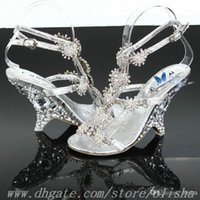 Cheap Bridal Shoes Best crystal wedding shoes