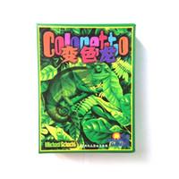 Wholesale English coloretto board game fast shipping to brazil russia COLORETTO with english rules