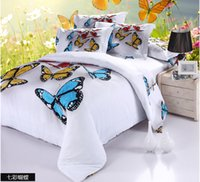 Wholesale New Beautiful D bedding queen bedding set ployester cotton bed sheets bed set home textile duvet cover set quilt cover pcCPB009