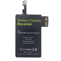 Wholesale For Note QI Wireless Charging Receiver Ultra Thin Wireless Charging Adapter For Samsung Galaxy Note KV0023