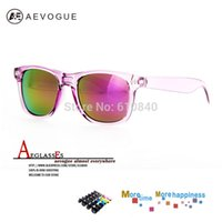 Wholesale aevogue Classic sunglasses Women s Retro Designer Mirror glasses High Quality With Colorful Styles Eyewear DT0017