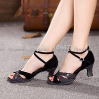 Wholesale AffordableHot Sale color cm heel Affordable Women Elegant Latin Dancing Shoes MY5395s