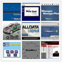 Wholesale 49in1 alldata and mitchell software alldata mitchell on demand ATSG vivid workshop ELSA med heavy truck tb hdd fits bit