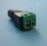 balun connectors - DC Power Adapter x2 mm Female DC Power Jack Adapter Connector Balun Plug for cctv cameras