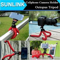 Cheap Car Phone Holder Flexible Octopus Tripod Bracket Selfie Stand Mount Monopod Styling Accessories For Mobile iPhone Samsung Camera