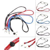 Wholesale Adjustable Eyeglass Holder Nylon Cord Sunglass Glasses Eyewear Neck Strap Black Red Blue Brown Lowest Price