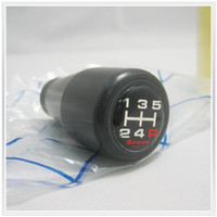 Wholesale BLACK SPOON Duracon Resin Gear Shift Knob Speed Manual for Hoda