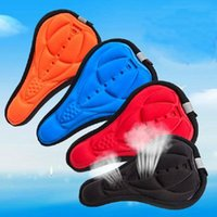 Wholesale 4 Color New Moutain Road Breathe Freely Cycling Bike Saddle Comfortable Silicone Gel Cushion Soft Pad Bicycle Seat Cover