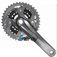 alivio crankset - ALIVIO FC M4000 dental plate speed speed mountain bike split square hole splined crankset
