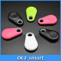 Wholesale Mini Smart Bluetooth Anti lost Key Finder Tag Use For Luggage Bag Wallet Key Finding Anti theft Alarm Bluetooth Selfie Timer Free APP