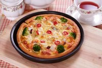 Wholesale Pizza Hut inch non stick pizza pan deepen fruit pie baking cake mold bakeware
