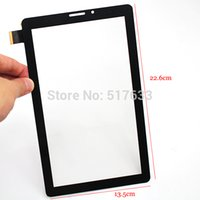 Wholesale 9 quot Glass Touch Panel Replacement for Bassoon p2000 Black Tablet PC Touch Panel Digitizer fpc ao vo1kq tracking