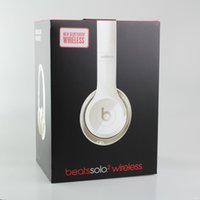 Wholesale Used Beats solo2 Wireless Headphones Noise Cancel Bluetooth Headphones Headset High quality with seal retail box