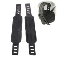 Wholesale New pair Adjustable Universal Home Gym Life Exercise Cycle Bike Bicycle Pedal Strap