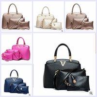 aaa quality handbags - 2015 AAA quality color new brand fashion women lady girl package V fashion bag in bag handbag inclined bag shoulder bag TOPB1895