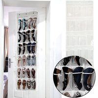 Wholesale Pocket Door Hanging Holder Shoe Organiser Storage Rack Wall Bag Room Best Price