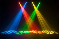 Wholesale W LED Moving Head Spot stage light AC90 V mini moving Gobo Pattern Light channels DMX512