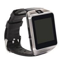 Wholesale GV08 Quad band Ultra thin mobile watch phone with M spy camera quot touch screen bluetooth new unlock smart watch MP3 FM