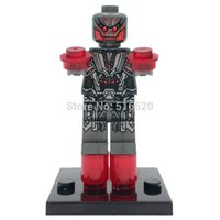 Wholesale Ultron Minifigure DC Batman Clown Super Heroes Building Block Sets Model Bricks Toys For Children