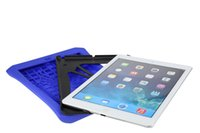 plastic strap - Beautiful protection case for ipad234 air air2 Survivors series ipad case with strap PC Silicon Dust Drop Shockproof case