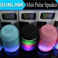 Cheap Mini Bluetooth Speaker Best Colorful LED Pulse Speaker