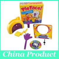 Wholesale Hasbro Gaming Pie Face Game Children Novelty interest paternity toys filial family toys Rocket Catapult Squirty Cream