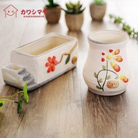 Wholesale Kawashima house creative flower gardening large diameter pots fairy plant cultivation special gifts YY