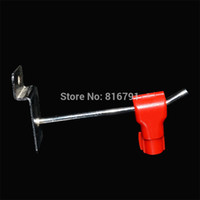 Wholesale 100pcs EAS Security display Stop Hook Locking For retail store hook stoplock